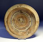 Good ancient greek Italian pottery dish, 4th. cent. BC