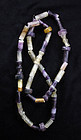 Huge Antique Chinese amethyst & rock crystal necklace!
