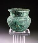 Choice Western Asian Achaemenid bronze jar 600-400 BC