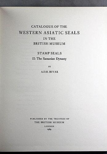 Western Asiatic Seals in the British Museum Stamp Seals II