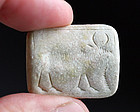 Rare large Western Asia stamp seal, 3rd.-2nd. mill. BC