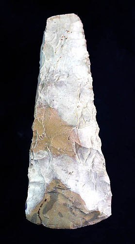 A perfectly shaped Danish neolithic axe, 3rd-2nd mill. BC.