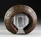 High Quality West african bronze decorated currency bracelet!