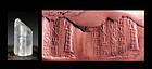 Rare rock Crystal Old Babylonian Cylinder seal w cuneiform!