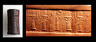 High quality Syro-Babylonian Cylinder seal with Cuneiform!