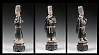 XL 49 cm. tall Chinese Ming Dynasty pottery figure!
