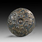 Large and important Pre-Achaemenid Silver Phiale, 1st. mill. BC!