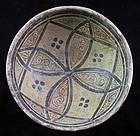High Quality Islamic pottery bowl 10th.-11th. century AD