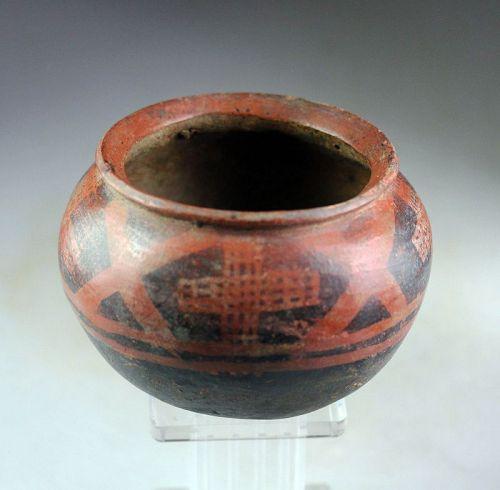 Choice pottery jar, Charchi / Narino Culture , Equador 850-1250 AD