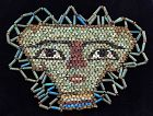 Large ancient Egyptian Mummy Bead mask, late period 600 BC