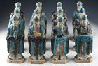 Important & complete set of 12 Ming Dynasty pottery Zodiac figures!