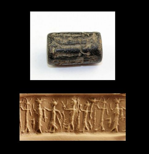 Rare blackstone cylinder seal mid 2nd. mill. BC