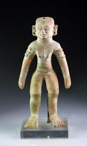 High Quality Pre-Columbian Mexico Vera Cruz Pottery figure!