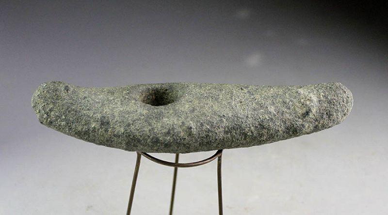 Elegant boat-shaped stone Battle Axe, Danish Neolithic, 3rd. mill. BC