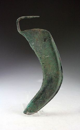 A bronzeage bronze Scythe, Ancient Near East, 2nd.-1st. mill. BC!