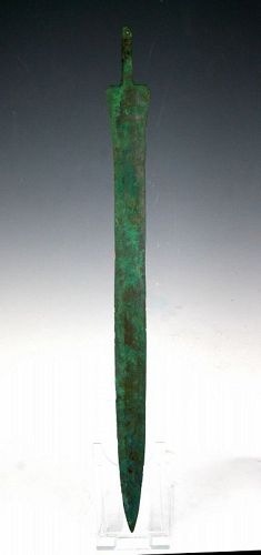 51 cm bronze sword, Amlash, Ancient Near East, 1400-1000. BC!