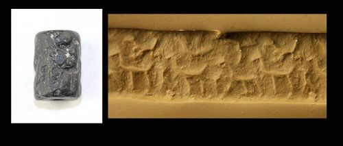 Nice Early Syro-Mesopotamian Cylinder seal with animals!