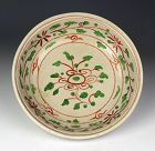 A Larger Vietnamese / Annamese Polychrome Pottery Dish, 16th-18th cent