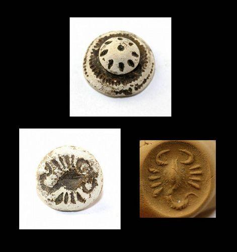 Interesting rare stamp seal, Levantine, 1st. millenium BC