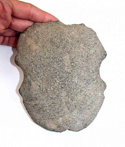 Massive ancient Taino stone axe, Pre-Columbian before 14th. century