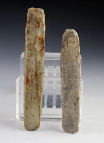 A pair of Danish neolithic chisels, Daggertime - 2200-2000 BC