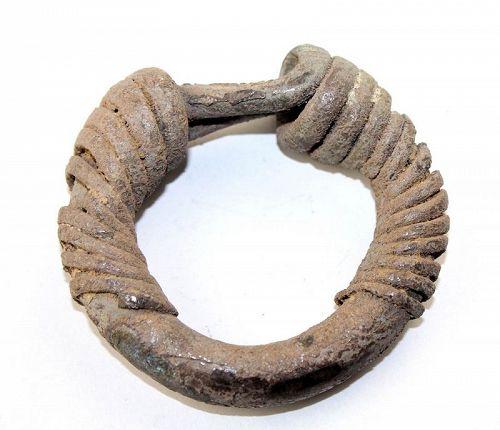 Huge bullion silver bracelet, Achaemenid, 1st. mill. BC - 350 grams!