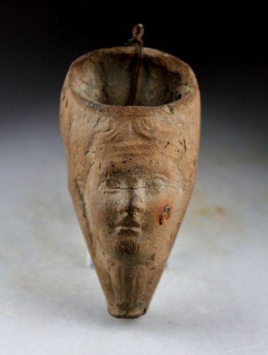 Ancient ceramic vessel Isis, Egypt, Greco-Roman period