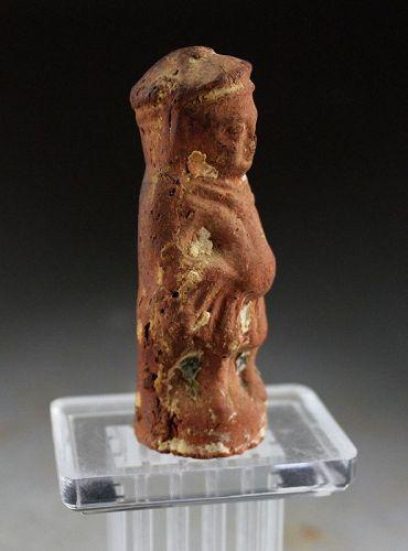 Terracotta figure of godess, Egypt, Roman Period, 100. BC- 100 AD