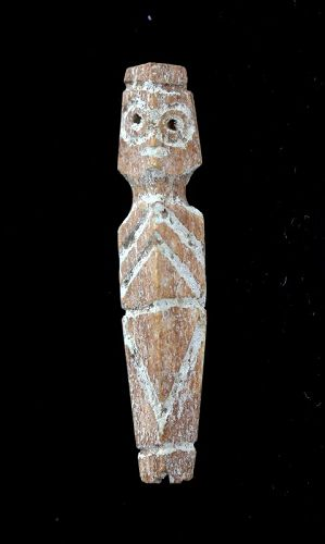Egyptian Coptic bone idol, female fertility godess, 1st. mill. BC