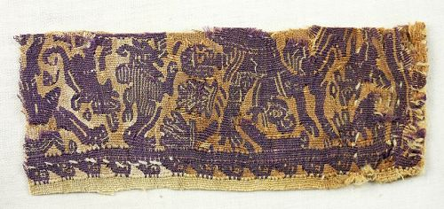 Extra fine Greek-Roman style Coptic Egypt Tunic fragment, 3rd.-4th c.