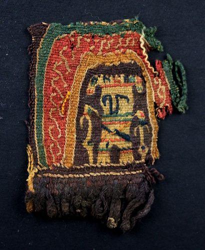 Fine figural textile, Byzantine / Islamic, 6th.-9th. century AD