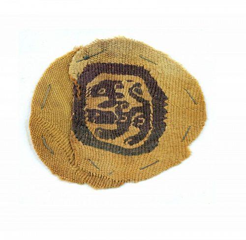 Fine Late Roman Orbiculus Textile, 4th.-6th. century AD