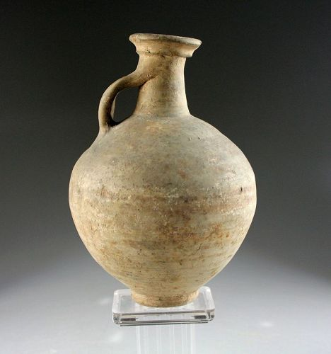 Choice Roman Grey-ware pottery jug, ca. 1st.-3rd. century AD