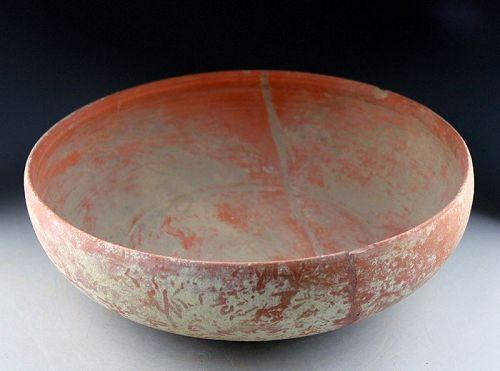 Massive Roman Terracotta bowl, Carthage, 2nd.-4th. century AD