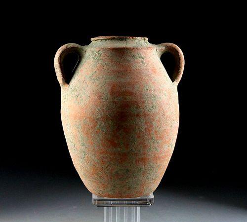 Larger Roman Terracotta Amphora vase, 1st.-3rd. century AD