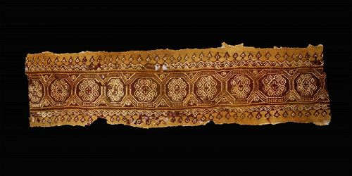 Extremely large Byzantine textile, Coptic Egypt, 6th.-9th. cent. AD