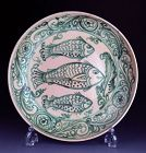Mint condition Huge Antique Burmese pottery Dish, 17th-18th cent.