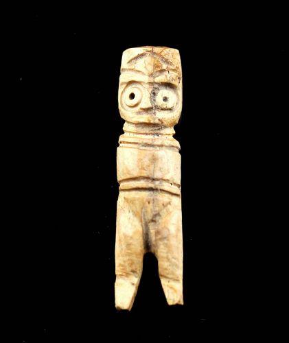 Fine Egyptian Coptic Bone Idol, ca. 1st. cent. BC-1st. cent. AD
