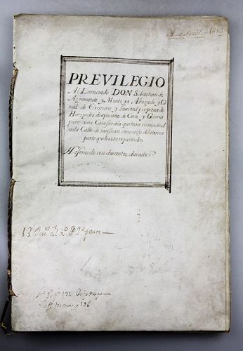Interesting license document, signed by Phillip IV, King of Spain 1653
