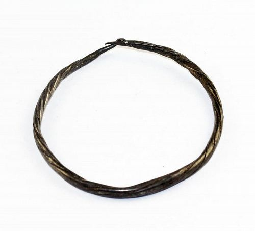 Large Viking period silver bracelet, Northern Europe, 9th.-10th.cent