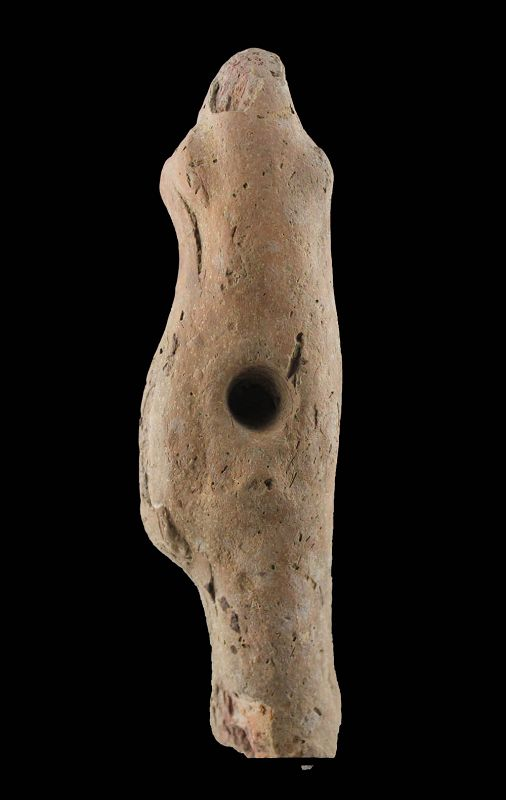 Large Egyptian pottery figure of Harpocrates, Ptolemaic period!