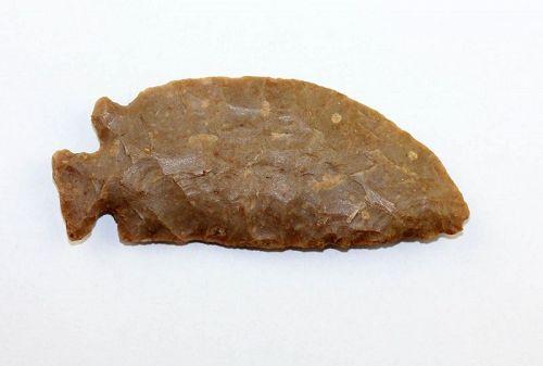 Scarce Pre-Dynastic Neolithic Egyptian silex stone knife, fish-shape!