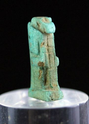 Nice Egypt faiance amulet of Thot Late period, 600/332 BC