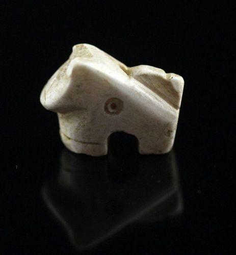 Fine Mesopotamian stone amulet of animal, Jemdet Nasr, 3rd. mill. BC
