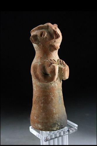 Scarce Baluchistan terracotta idol, 1st. millenium BC