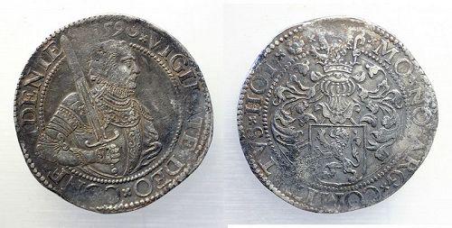 Rare Dutch Rijksdaalder or Prinsendaalder 1590 in Good VF!