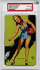1945 Mutoscope Pin Up-ON TOP OF THE WORLD, HOTCHA GIRLS-PSA-VG EX + 4