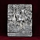 Henryk Winograd War Plaque-First Battle of Murfreesboro-HW .925 Silver