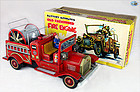 Vintage Old Fashioned Fire Engine Toy Car with Original Box