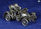Franklin Mint 1905 Vauxhall Silver Car Miniature, Mint Condition, 1977